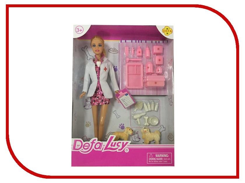 Кукла Defa Lucy Доктор-женщина 61678 кукла defa lucy любимый малыш pink 5063pk