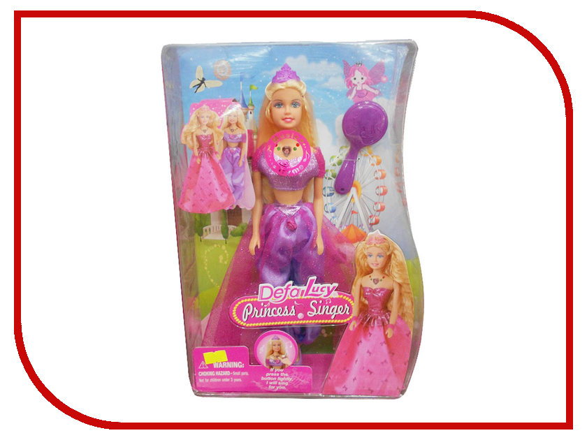 Кукла Defa Lucy Принцесса 8265 кукла defa lucy 270 228984