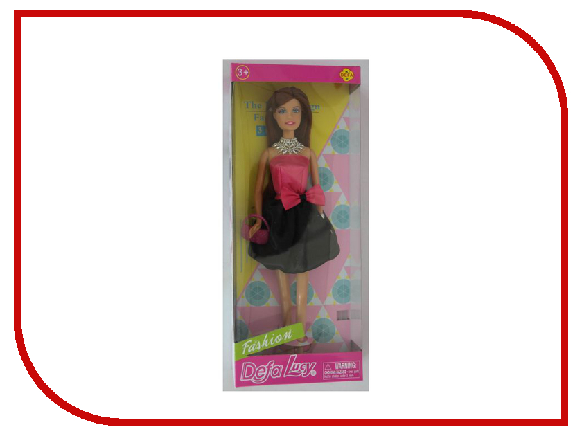 Кукла Defa Lucy Модница 8272 кукла defa lucy летние покупки 8220