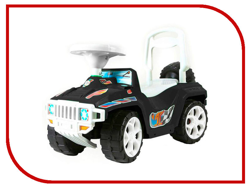Каталка Orion Toys Ориончик Black 419-BLK каталка orion toys каталка джипик полиция 105 пол
