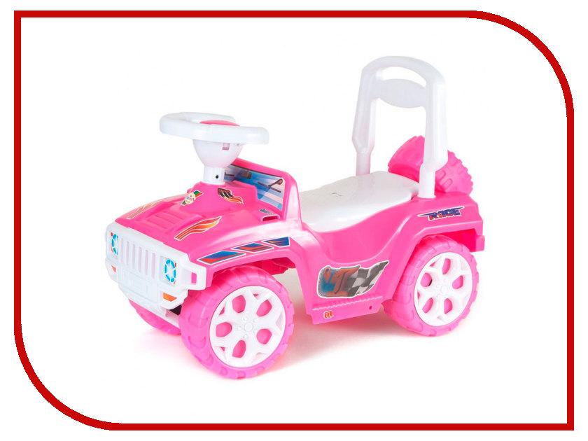 Каталка Orion Toys Каталка Ориончик Pink 419-PIN мягкая каталка