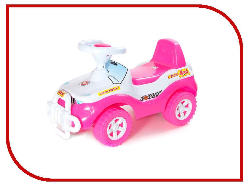 игрушка Orion Toys Каталка Джипик Pink 105-PIN bauer toys игрушка каталка самолет
