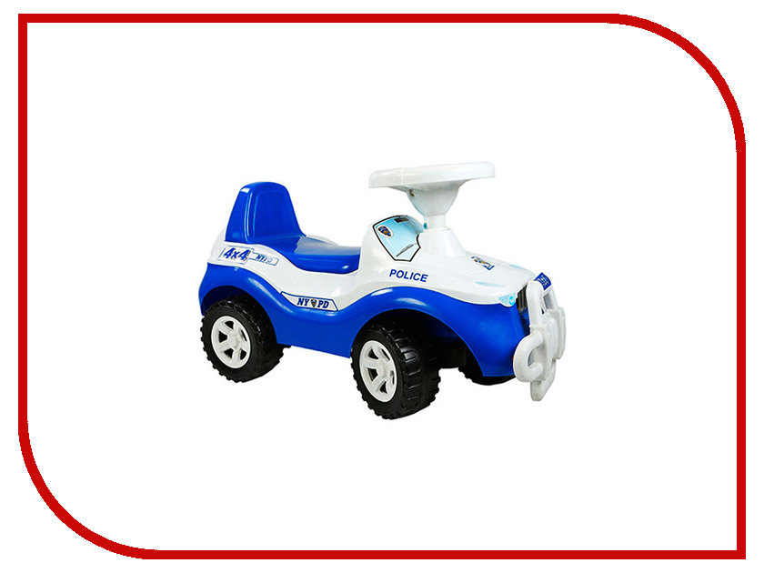 Каталка Orion Toys Джипик Полиция 105-Пол цена и фото