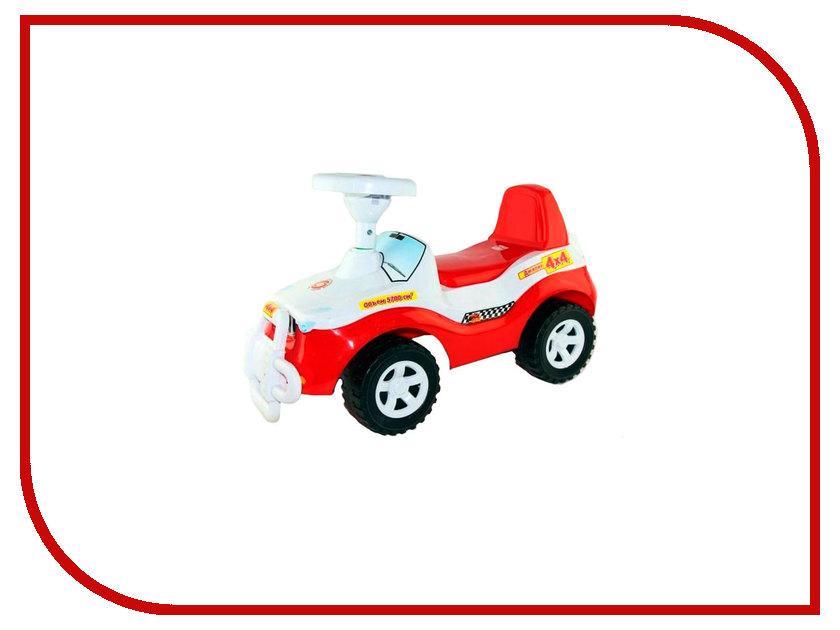Каталка Orion Toys Джипик Red-White 105-RD/WH каталка orion toys каталка джипик полиция 105 пол
