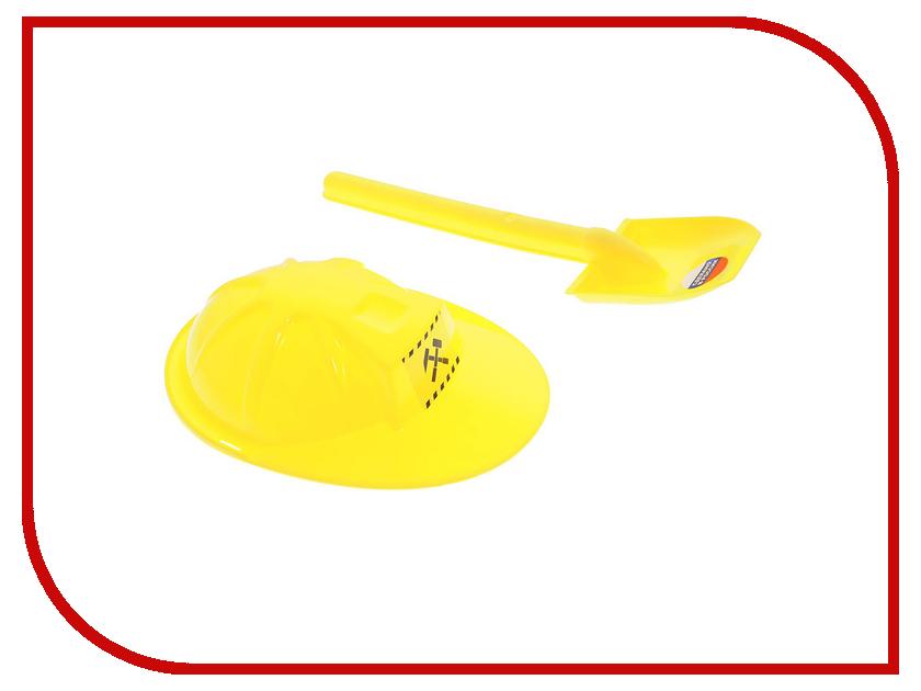 Игрушка Zebratoys Лопата с каской 15-10594 фискарс укороченная лопата