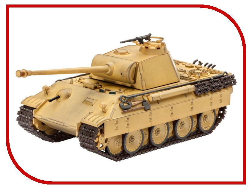 Сборная модель Revell Танк Panther Ausf 03107R звезда сборная модель немецкий средний танк pz iv ausf d