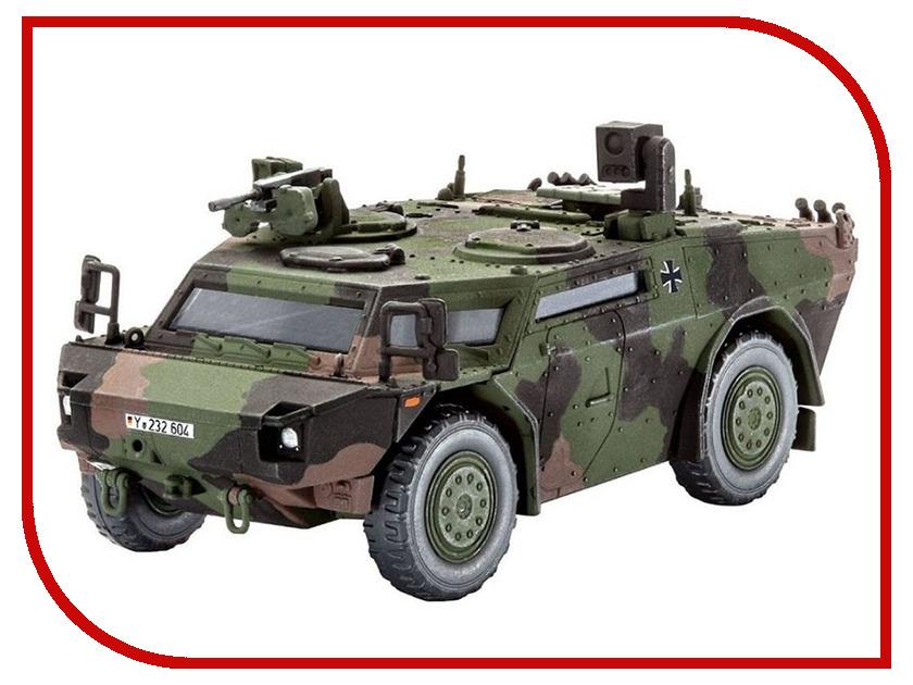 Сборная модель Revell Дозорная машина Fennek 03136R сборная модель автомобиля revell легковая машина скорой помощи