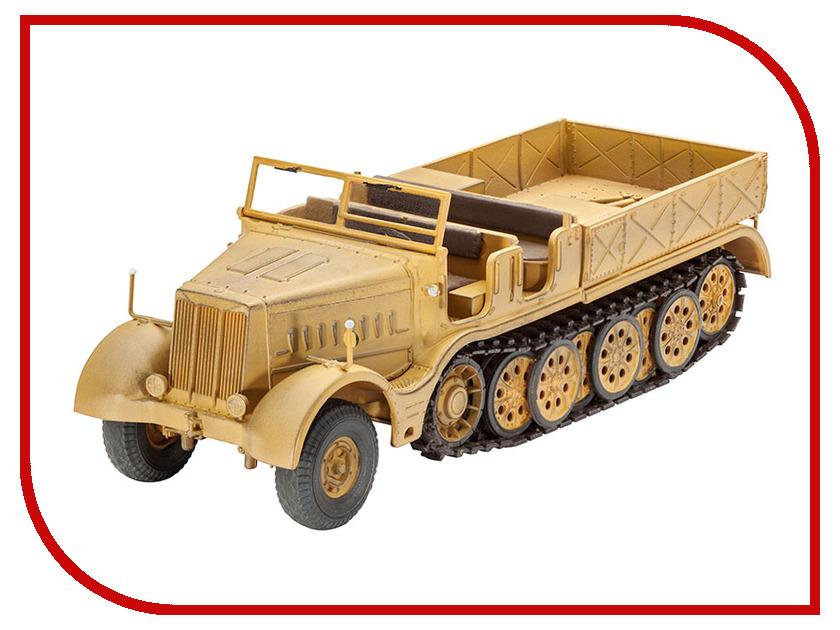 Сборная модель Revell Полугусеничный тягач Famo 03141R кисть revell 0