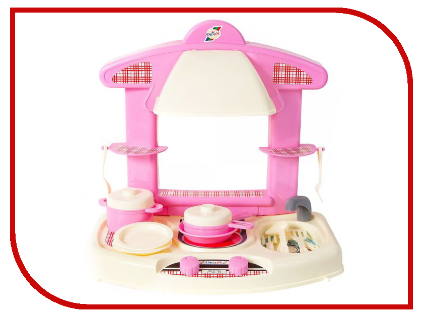 Игра Orion Toys Кухня Маленькая Умница 327 умница профессии торговля