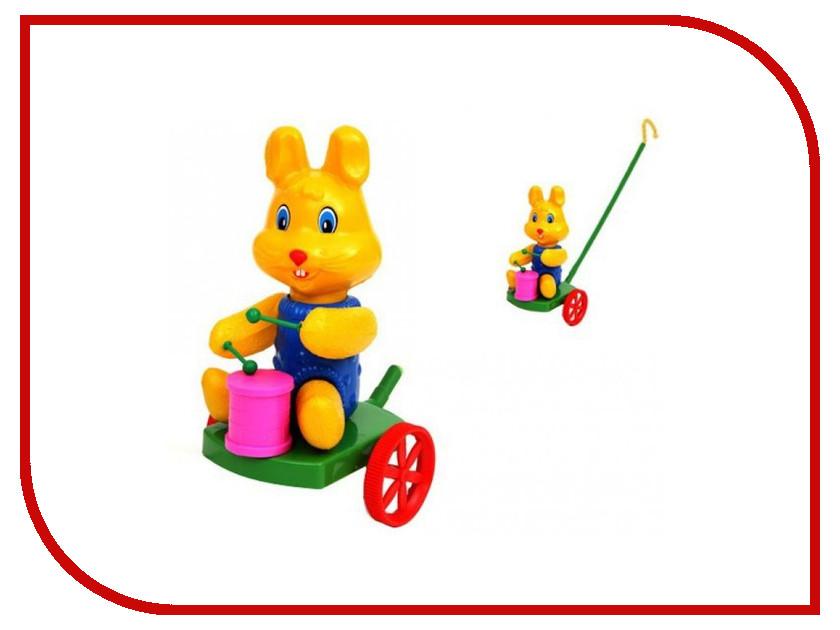 Каталка Suchanek Кролик с барабаном SHNK-03 каталка s s toys слон с барабаном 0356 в пакете