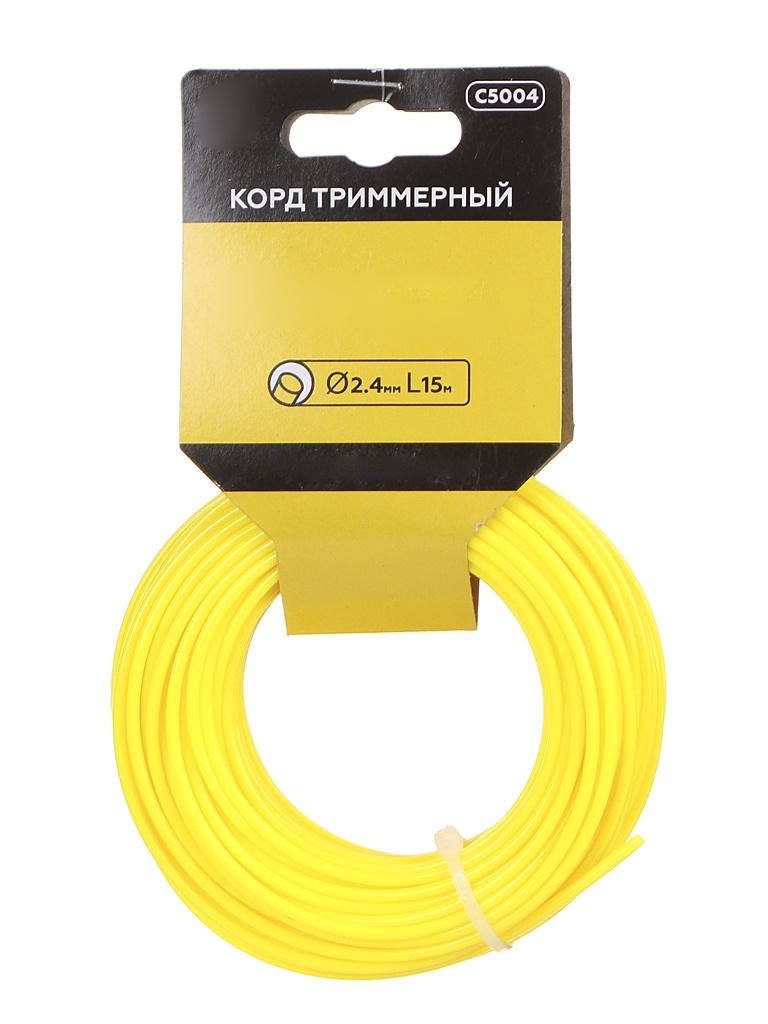 Леска для триммера Champion C5004 Round 2.4mm x 15m