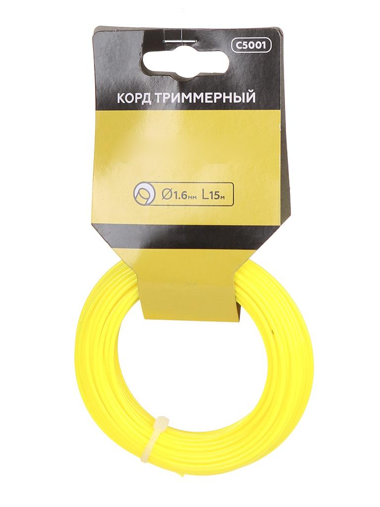 Леска для триммера Champion C5001 Round 1.6mm x 15m