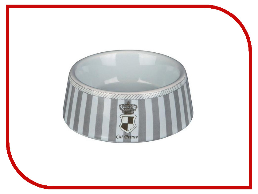 Миска Трикси Prince 180ml 24781 Silver-White