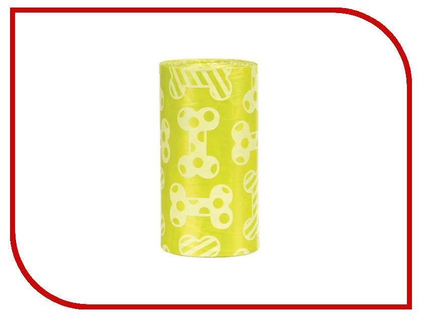 Пакеты для уборки Трикси М 4х20шт с запахом лимона Yellow 23473