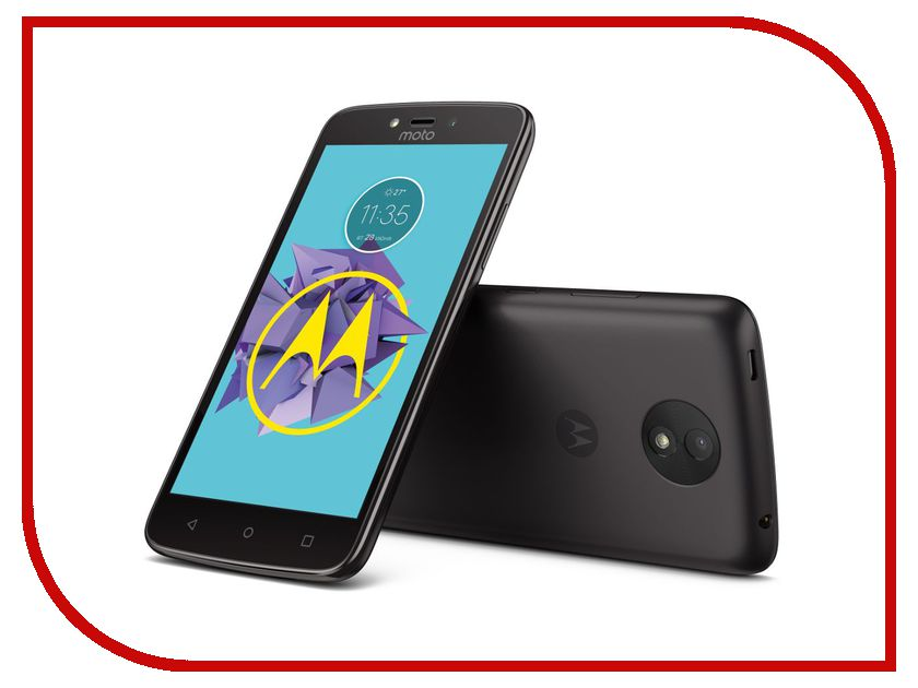 Сотовый телефон Motorola Moto C Plus XT1723 Starry Black