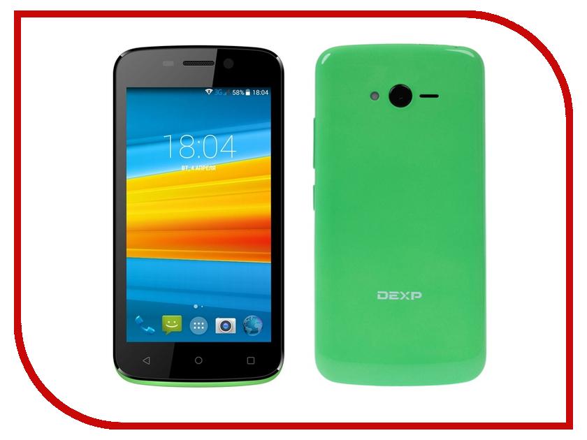Сотовый телефон DEXP Ixion E245 Green сотовый телефон dexp ixion el450 force coffee