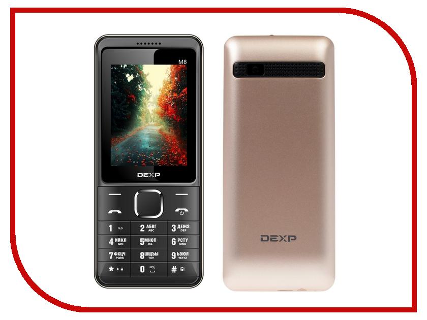 Сотовый телефон DEXP Larus M8 Gold