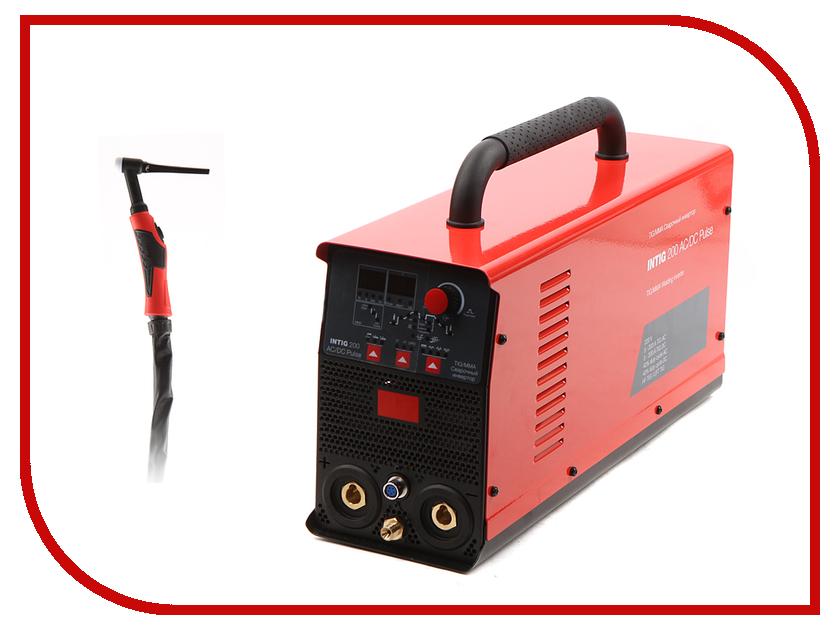 Сварочный аппарат Fubag Intig 200 AC/DC PULSE с горелкой FB TIG 26 5P сварочный аппарат aurora pro inter tig 200 pulse