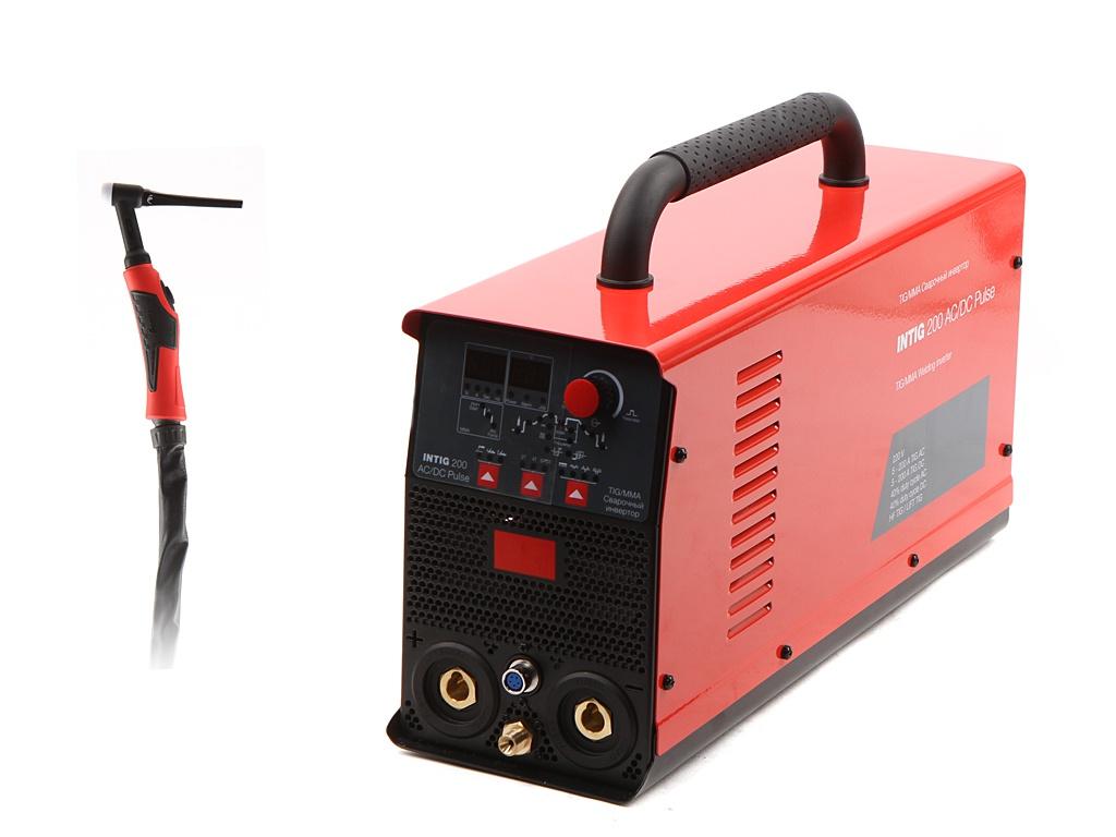 Сварочный аппарат Fubag Intig 200 AC/DC Pulse 31412 + горелка FB TIG 26 5P 4m Up&Down 38459