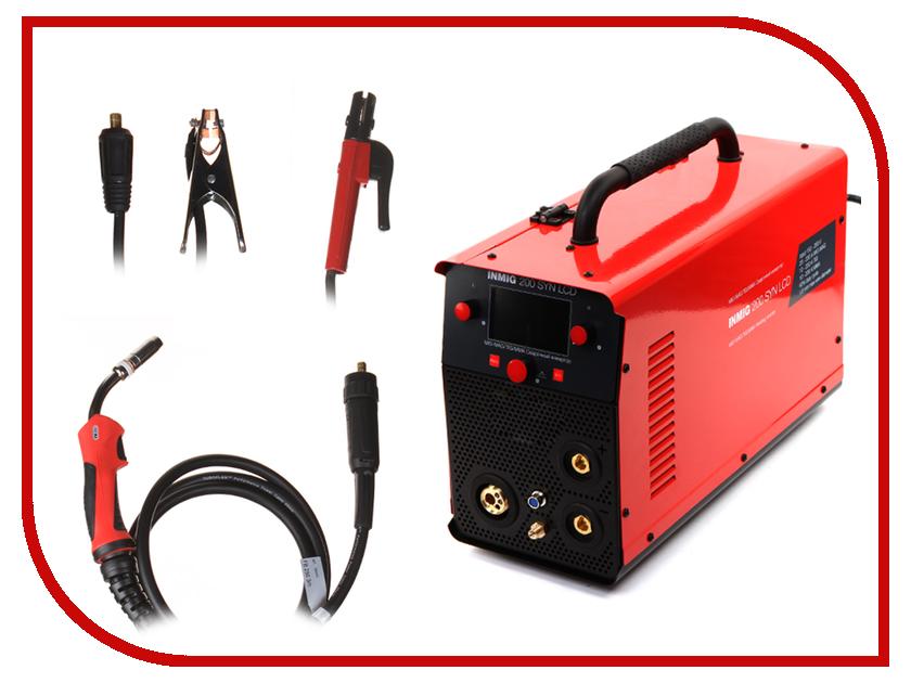 Сварочный аппарат Fubag Inmig 200 SYN LCD с горелкой FB 250 сварочный аппарат fubag inmig 200 plus 38093 маска сварщика fubag optima 9 13