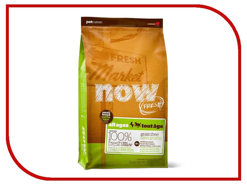 Корм Now Fresh Meat & Omega Oils Беззерновой с Индейкой,уткой и овощами 11.35kg для малых пород всех возрастов 39613