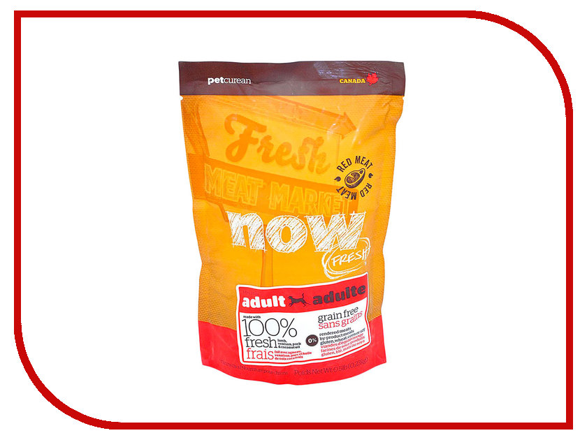 Корм Now Fresh Беззерновой с Олениной и ягненком 230g для взрослых собак 42848 проплан для собак с ягненком