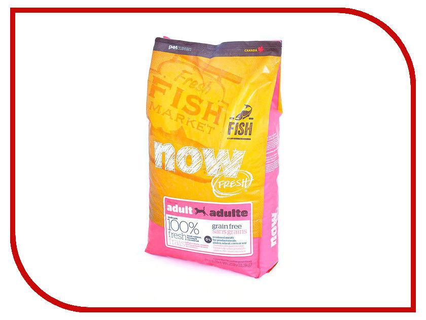Корм Now Fresh Беззерновой с Форелью и лососем 11,35kg чувствительного пищеварения, для взрослых собак 42852