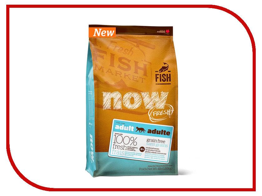 Корм NOW FRESH Беззерновой с Форелью и лососем 1,82kg чувствительным пищеварения,для взрослых кошек 42854
