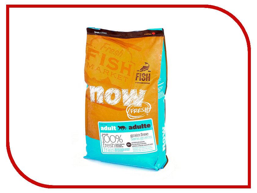 Корм Now Fresh Беззерновой c Форелью и лососем 7,26kg чувствительного пищеварения,для взрослых кошек 41371 консервы для кошек monge lechat с лососем и креветками 100 г