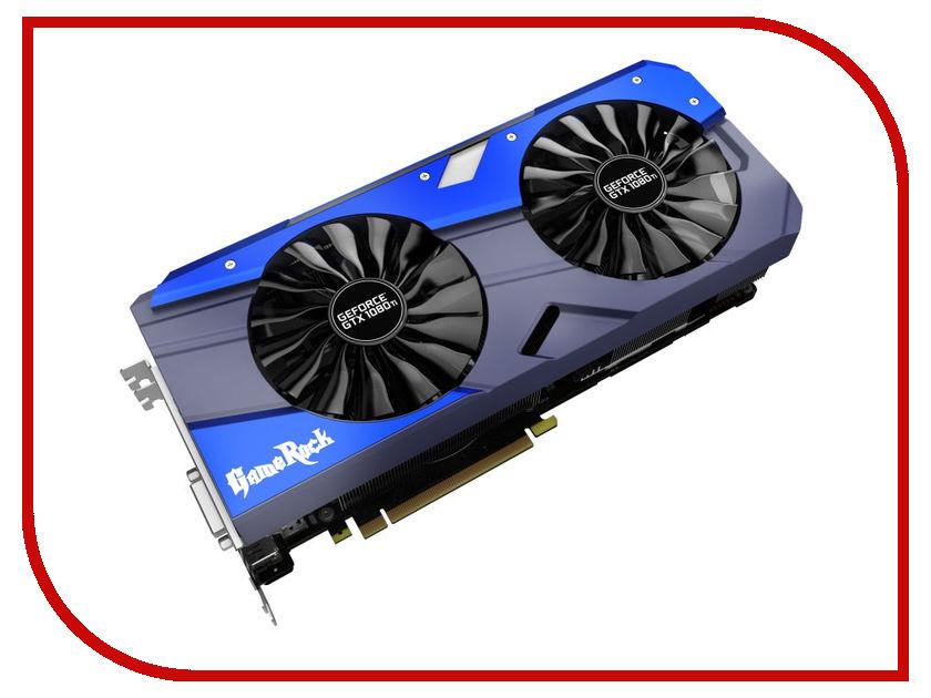 Zakazat.ru: Видеокарта Palit GeForce GTX 1080 Ti GameRock 1518Mhz PCI-E 3.0 11264Mb 11000MHz 352 bit HDMI NEB108TT15LC-1020G