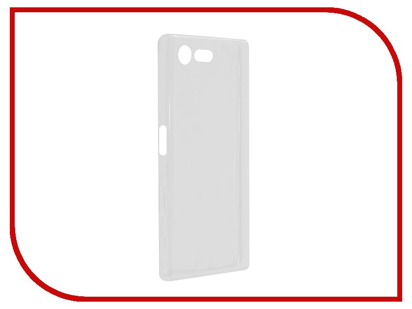 Аксессуар Чехол Sony Xperia X Compact Cojess Silicone TPU 0.5mm Transparent аксессуар чехол samsung galaxy a3 2017 cojess tpu 0 3mm transparent
