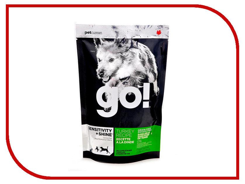 Корм GO! Индейка 230g для Щенков и собак с чувствительным пищеварением 39562 женские часы go girl only go 694925