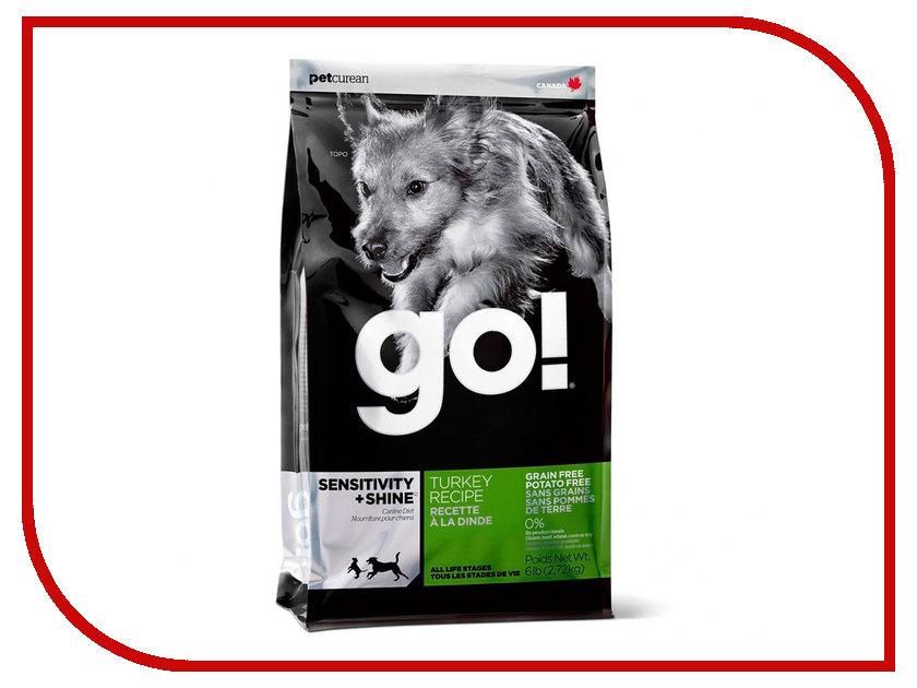 Корм GO! Индейка 2,72kg для Щенков и собак с чувствительным пищеварением 39563 босоножки go go go go go017awiri10