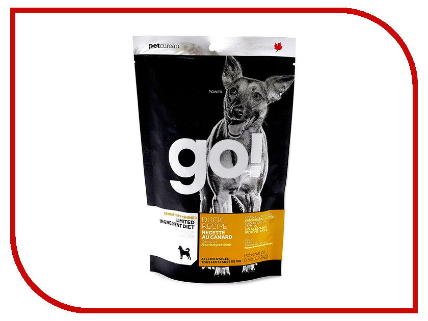 Корм GO! Утка 230g для Щенков и собак с чувствительным пищеварением 42840 женские часы go girl only go 694925