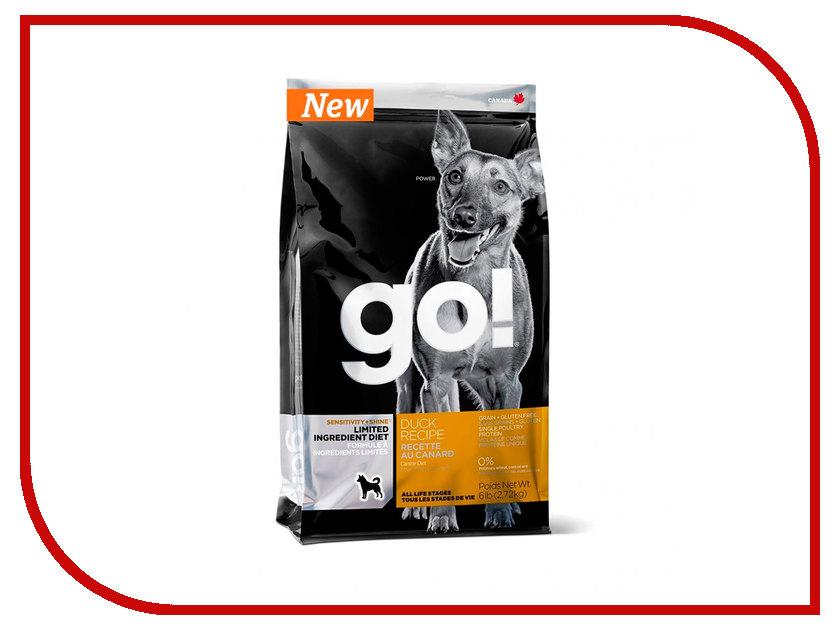 Корм GO! Утка 2,72kg для Щенков и собак с чувствительным пищеварением 42841 женские часы go girl only go 694925