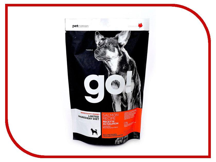 Корм GO! Лосось 230g для Щенков и собак с чувствительным пищеварением 42835 no name чехол для переноски цельных палок