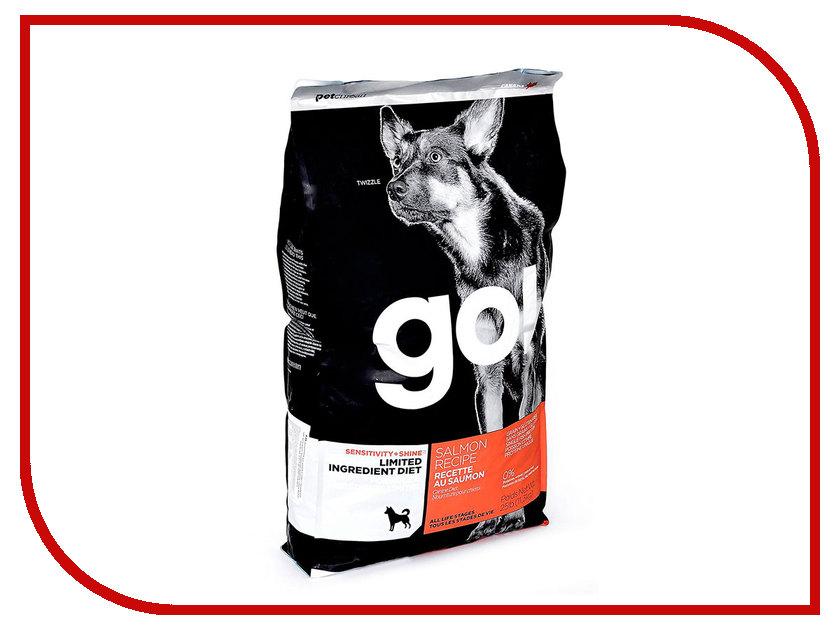 Корм GO! Лосось 11,35kg для Щенков и собак с чувствительным пищеварением 42837 босоножки go go go go go017awiri10