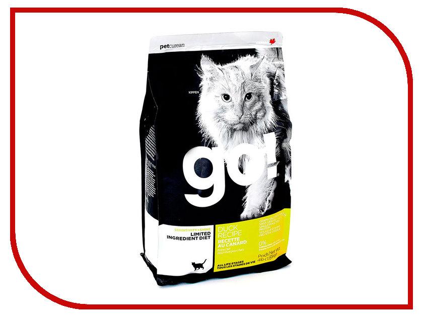 Корм GO! Утка 1,82kg для котят и кошек с чувствительным пищеварением 42844 женские часы go girl only go 694925