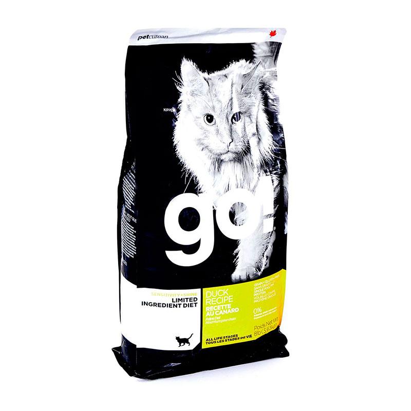 Корм GO! Утка 3,63kg для котят и кошек с чувствительным пищеварением 42845 / 01502