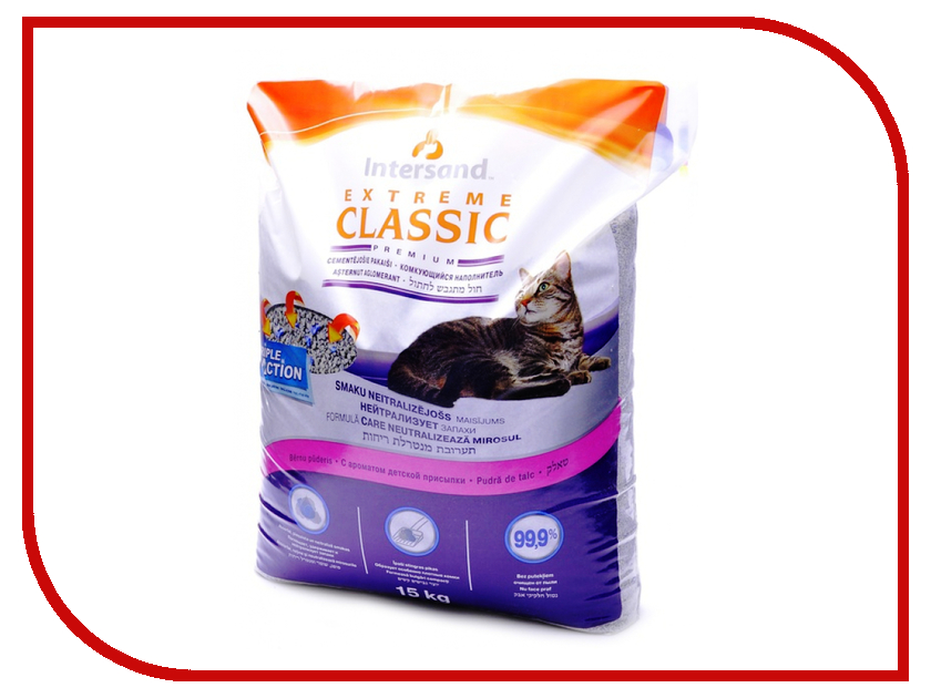Наполнитель Intersand Extreme Classic Baby Powder 15kg 62926