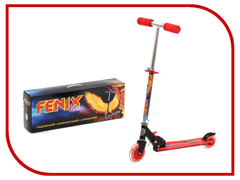 Самокат Fenix CMS056 Red fenix 15g