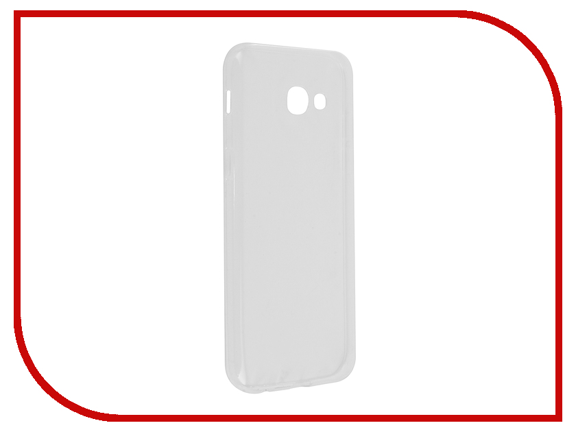 Аксессуар Чехол Samsung Galaxy A5 2017 Cojess Silicone TPU 0.5mm Transparent аксессуар чехол samsung galaxy a3 2017 cojess tpu 0 5mm transparent