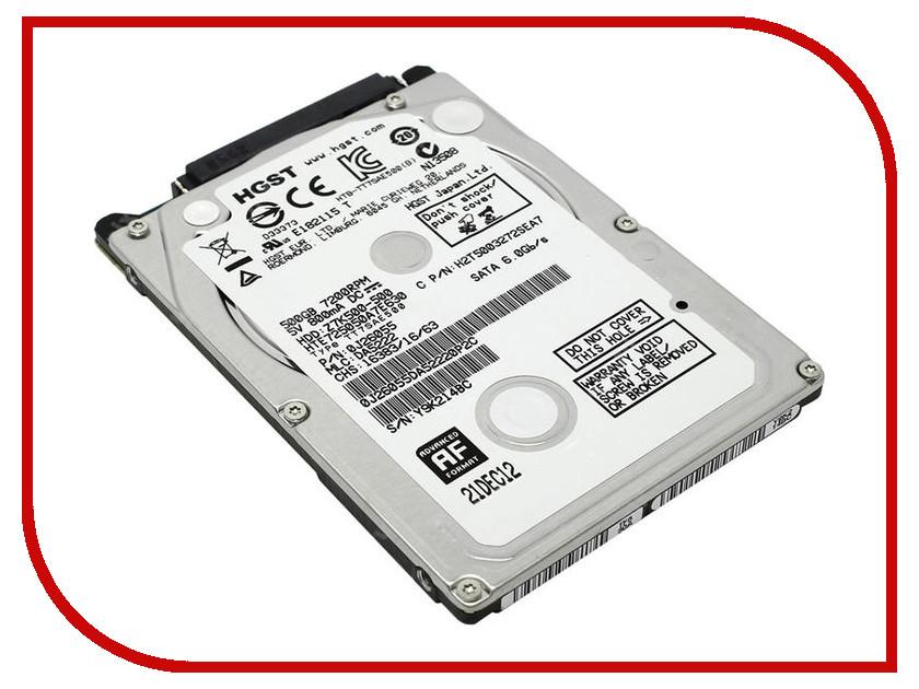 Жесткий диск 500Gb - HGST Travelstar Z7K500 HTE725050A7E630 / 0J43105 hgst hus726040ale614