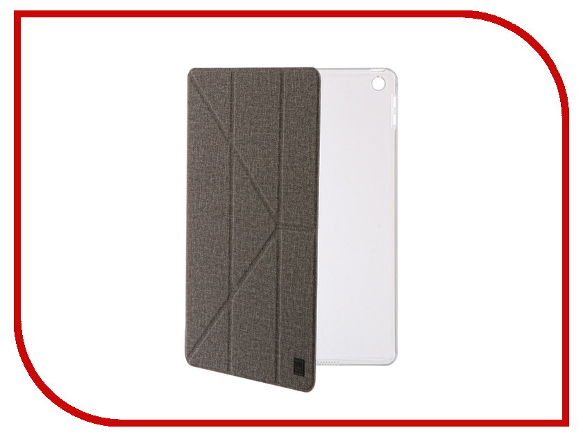 Аксессуар Чехол для APPLE iPad 9.7 2017 Uniq Yorker Kanvas Grey NPDP97YKR-KNVGRY