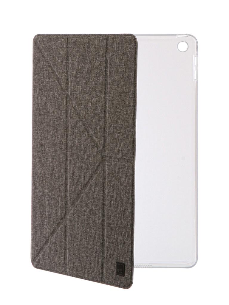 Фото - Аксессуар Чехол Uniq для APPLE iPad 9.7 2017 Yorker Kanvas Grey NPDP97YKR-KNVGRY чехол книжка uniq tri fold rigor для apple ipad 9 7 2018 красный