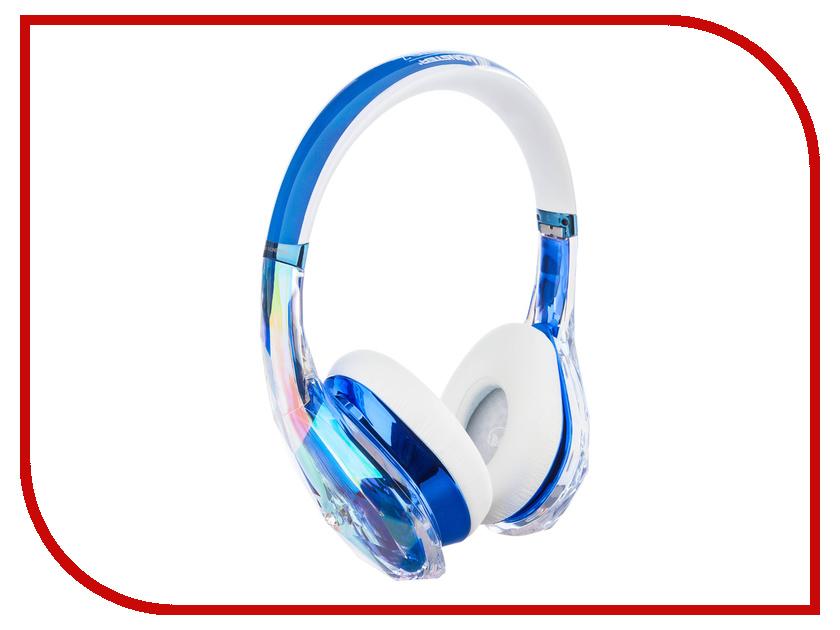 Гарнитура Monster DiamondZ Clear Blue On-Ear 137028-00 гарнитура monster isport achieve bluetooth black in ear wireless 137089 00