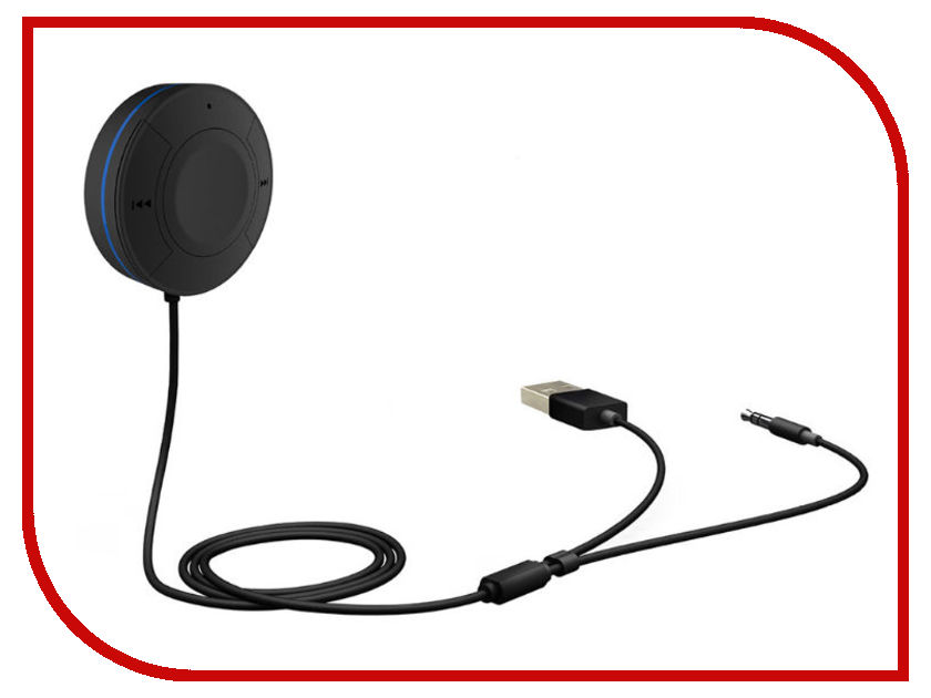 Аксессуар Quantoom AUX SE aux wireless bluetooth audio receiver adapter with car charger