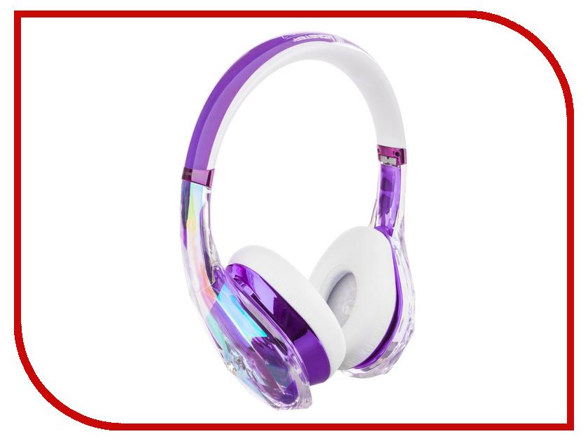 Monster DiamondZ Purple and White On-Ear 137016-00 гарнитура monster dna pro 2 0 white tuxedo