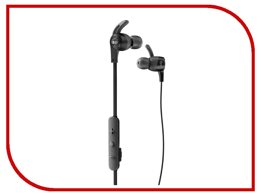 Monster iSport Achieve Bluetooth Black In-Ear Wireless 137089-00 спортивные наушники monster isport achieve green 137091 00