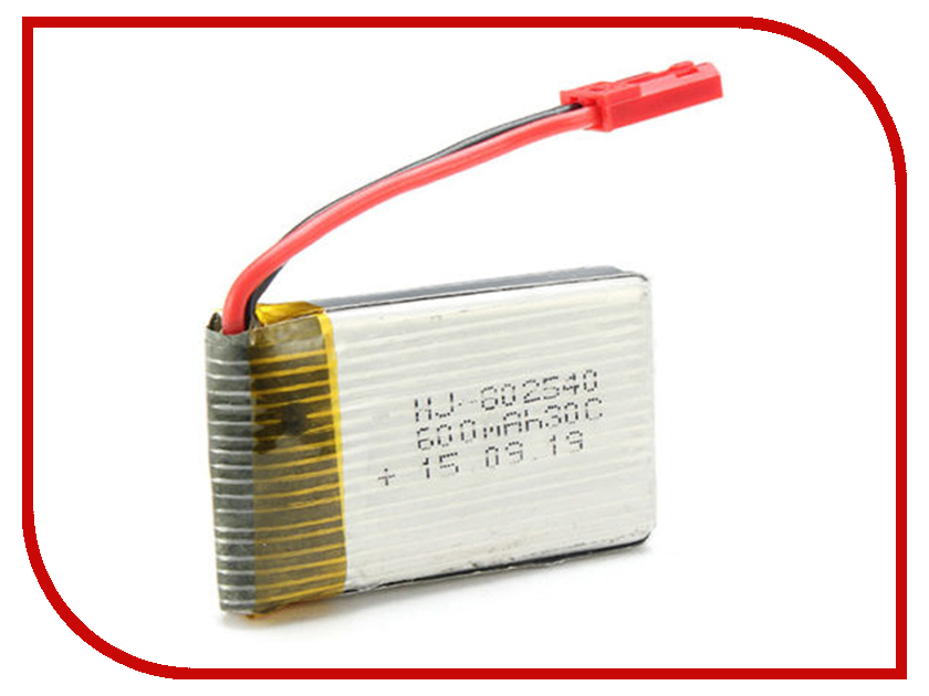 Аккумулятор Jin Xing Da JXD-509-18 Li-Po 3.7V 600 mAh для JXD 509/510/515 neri karra 0074r 05 01 05